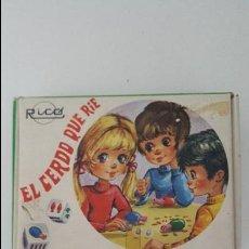 Juguetes antiguos Rico: EL CERDO QUE RIE.RICÓ. Lote 75796155