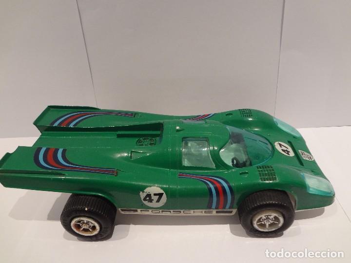 COCHE CARRERAS - PORSCHE 917 - RICO - AÑOS 70 - VERDE (Juguetes - Marcas Clásicas - Rico)