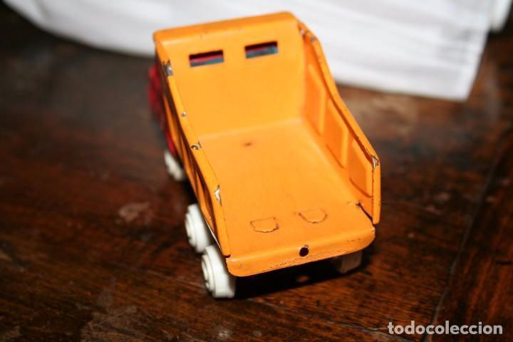 Juguetes antiguos Rico: antiguo camion volquete mini sanson rico - Foto 2 - 83849416