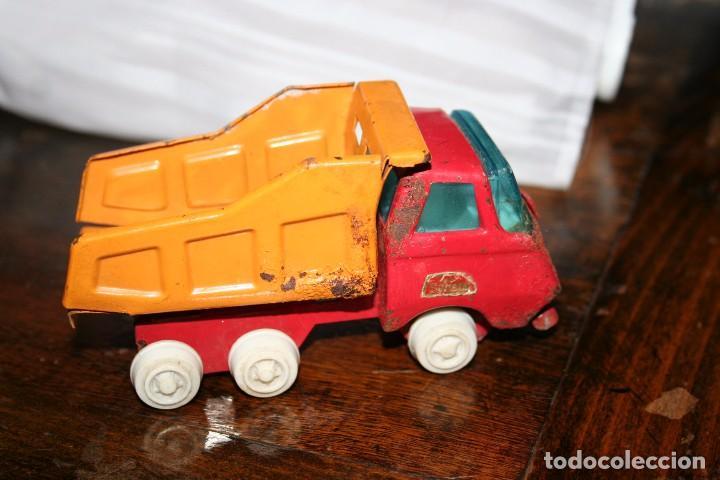 Juguetes antiguos Rico: antiguo camion volquete mini sanson rico - Foto 3 - 83849416