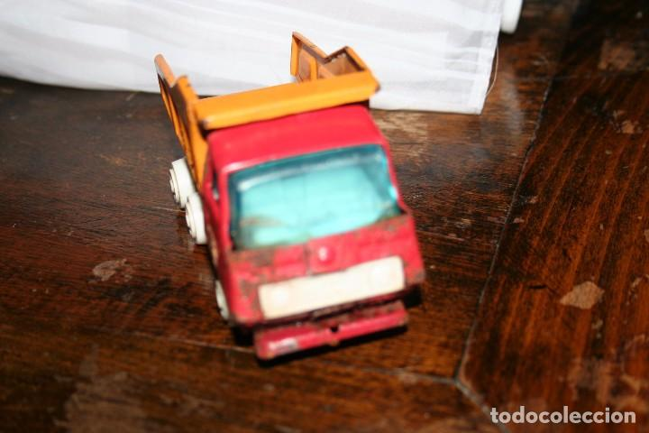 Juguetes antiguos Rico: antiguo camion volquete mini sanson rico - Foto 4 - 83849416