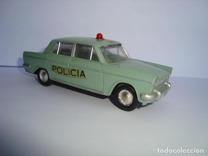 Juguetes antiguos Rico: SEAT 1500 1400 C POLICIA DE RICO MINIATURAS RICO 1,38 - Foto 2 - 85258728