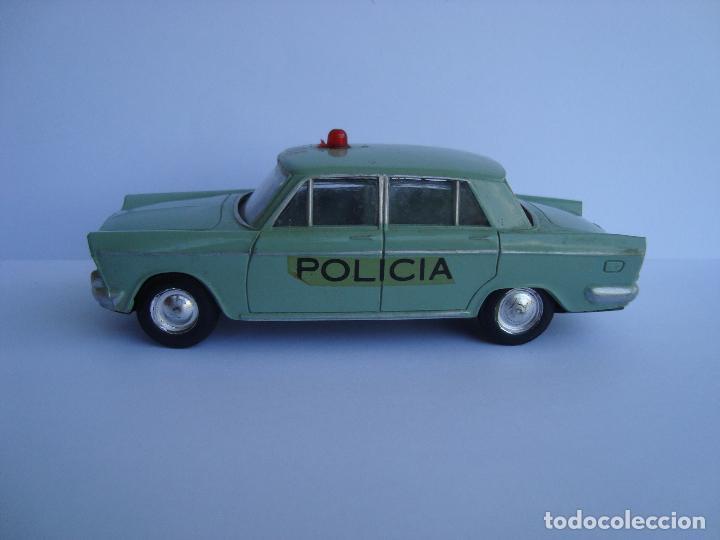 Juguetes antiguos Rico: SEAT 1500 1400 C POLICIA DE RICO MINIATURAS RICO 1,38 - Foto 3 - 85258728