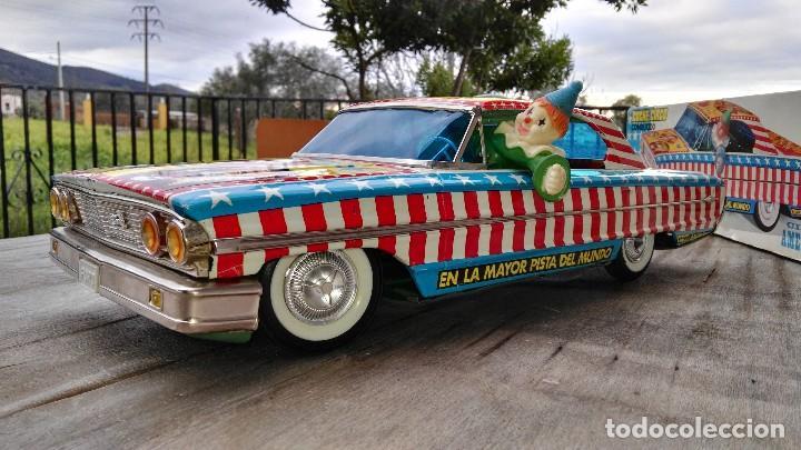 Juguetes antiguos Rico: Ford galaxie circo americano de rico - Foto 2 - 86307444