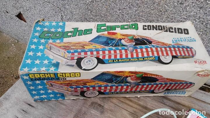 Juguetes antiguos Rico: Ford galaxie circo americano de rico - Foto 6 - 86307444