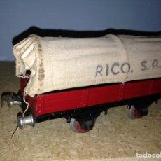 Juguetes antiguos Rico: VAGON RICO ESCALA 0 AÑOS 40. Lote 86853511