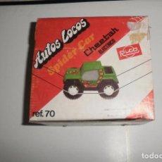 Juguetes antiguos Rico: JUGUETE SPIDER CAR CHEETAH (AUTOS LOCOS), REF. 70. RICO, SIN USAR (MOTOR COMPROBADO). Lote 87554388