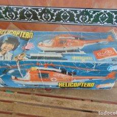 Juguetes antiguos Rico: HELICOPTERO DE JUGUETES RICO MONOCANAL EN CAJA . Lote 91503080