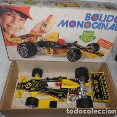 Juguetes antiguos Rico: BÓLIDO MONOCANAL RADIOCONTROL SANTI RICO. Lote 92190085