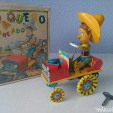 Juguetes antiguos Rico: RICO VAQUERO MAREADO, NUEVO EN CAJA. Lote 95928635