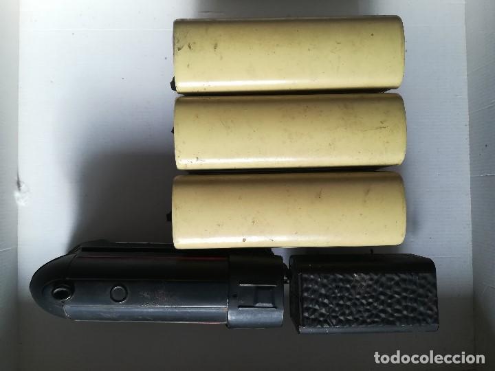 Juguetes antiguos Rico: Tren electrico 1020 , Marca Rico , en hojalata , falta limpieza , caja con desperfecto - Foto 3 - 96024863