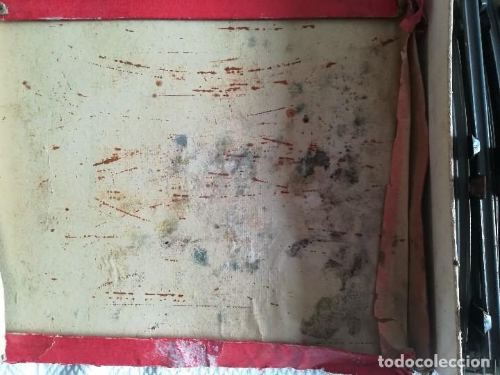 Juguetes antiguos Rico: Tren electrico 1020 , Marca Rico , en hojalata , falta limpieza , caja con desperfecto - Foto 6 - 96024863