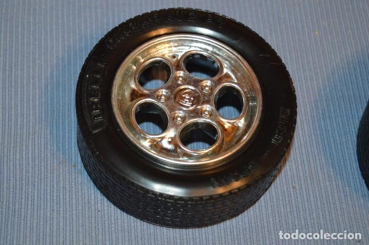 Juguetes antiguos Rico: De RICO - PORSCHE 928 - Repuesto Neumáticos, sistemas anclaje, etc... - ¡Mira fotos y detalles! - Foto 9 - 98019591