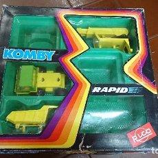 Juguetes antiguos Rico: KOMBY RÁPID, RICO, CAJA IMCOMPLETA. Lote 98740759
