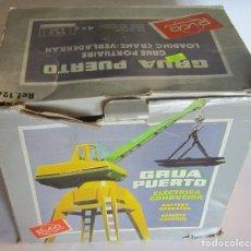 Juguetes antiguos Rico: GRUA PUERTO RICO ELECTRICA, REF 126, EN CAJA. CC. Lote 99701975