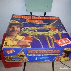 Juguetes antiguos Rico: GRUA PORTICO RICO EN CAJA. Lote 102027827