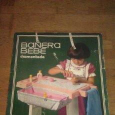 Brinquedos antigos Rico: ANTIGUA BAÑERA DE BEBÉ DESMONTABLE CON SU CAMBIADOR REF. 167 DE RICO DE LOS AÑOS 70 CON ALGÚN EXTRA. Lote 102734663
