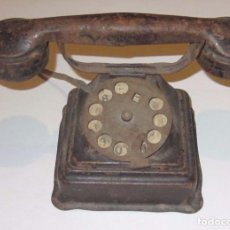 Juguetes antiguos Rico: RICO TELEFONO DE HOJALATA AÑOS 20 -30 ORIGINAL. Lote 104905443
