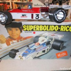 Juguetes antiguos Rico: SUPERBOLIDO RICO CON CAJA ORIGINAL. Lote 106079311
