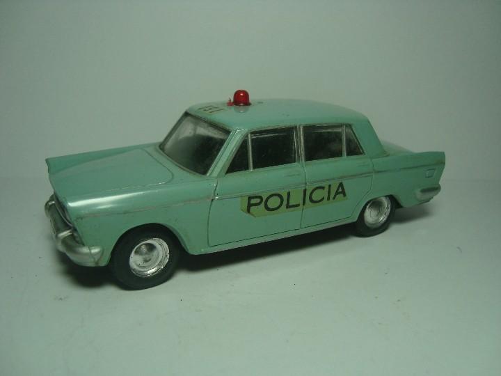 SEAT 1500 1400 C POLICIA DE RICO MINIATURAS RICO 1,38 (Juguetes - Marcas Clásicas - Rico)