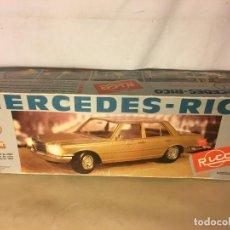 Juguetes antiguos Rico: ANTIGUA CAJA COCHE RICO MERCEDES TELECTRIC REF. 153 AÑOS 70. Lote 112176439