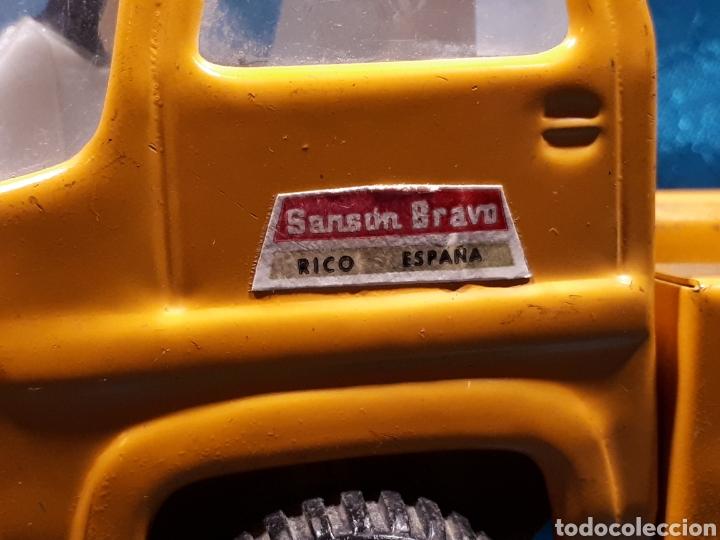 Juguetes antiguos Rico: Camion sanson bravo de rico. Sin contenedor - Foto 5 - 112368055