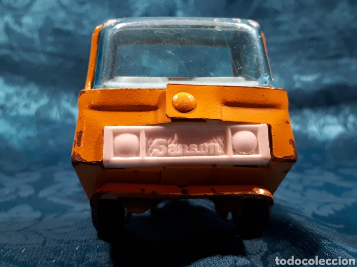 Juguetes antiguos Rico: Camion grua mini sanson de rico. Le falta la grua - Foto 2 - 112471887