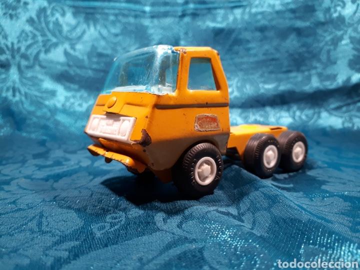 Juguetes antiguos Rico: Camion grua mini sanson de rico. Le falta la grua - Foto 3 - 112471887