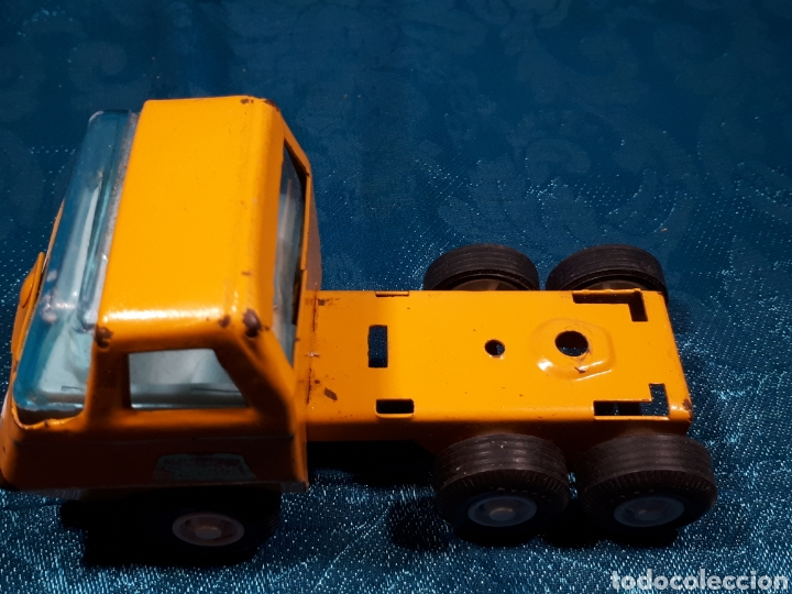 Juguetes antiguos Rico: Camion grua mini sanson de rico. Le falta la grua - Foto 8 - 112471887