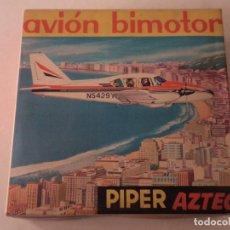 Juguetes antiguos Rico: AVION BIMOTOR PIPER AZTEC RICO CON CAJA. Lote 112533479
