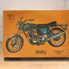Juguetes antiguos Rico - CAJA de Moto Norton commando 750 roadster, Heller Rico - 112892675