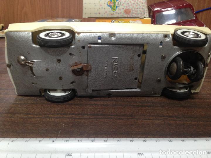 Juguetes antiguos Rico: ANTIGUO COCHE JUGUETE ESCALA RICO AMBULANCIA CRUZ ROJA SEAT 1400 - Foto 6 - 113593331