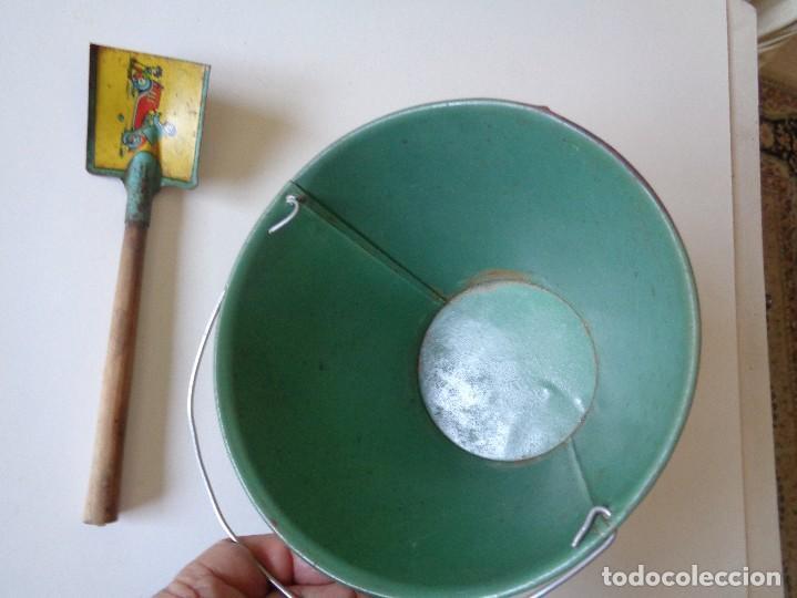 Juguetes antiguos Rico: CUBO DE PLAYA DE RICO Y PALETA - Foto 5 - 114643267