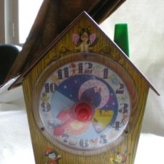 Juguetes antiguos Rico: ROJO HUCHA MUSICAL DE JUGUETE RICO. Lote 116814619