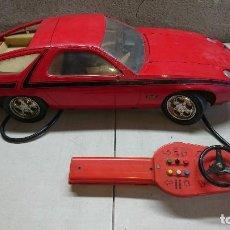 Juguetes antiguos Rico: PORSCHE 928 GT DE RICO CON MANDO PARA PIEZAS O RESTAURAR. Lote 116833699