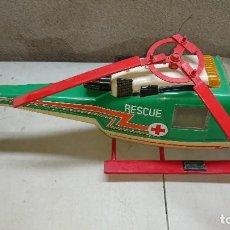 Juguetes antiguos Rico: HELICOPTERO DE RESCATE CRUZ ROJA DE RICO PARA PIEZAS O RESTAURAR. Lote 116833831