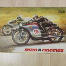 Juguetes antiguos Rico: MOTO RICO MONTESA FRICCIÓN. N13. Lote 117238595