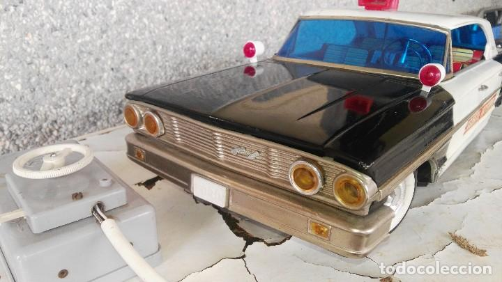 Juguetes antiguos Rico: Ford galaxie policia interpol de rico - Foto 2 - 117433675