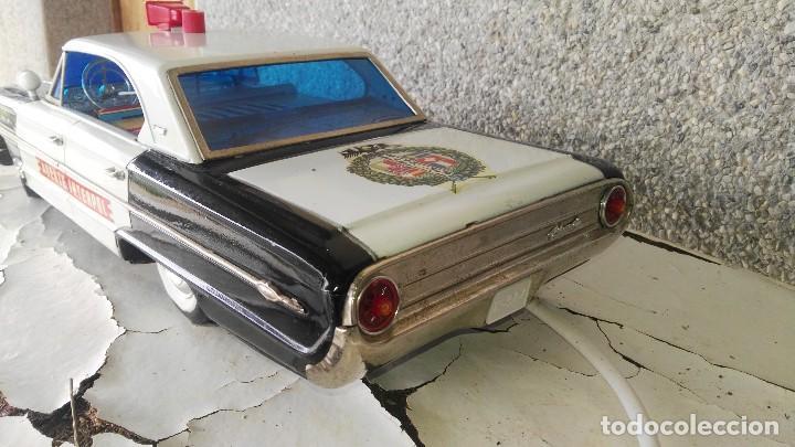 Juguetes antiguos Rico: Ford galaxie policia interpol de rico - Foto 3 - 117433675
