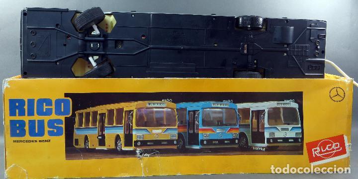 Juguetes antiguos Rico: Autobus Bus Mercedes Benz Rico eléctrico conducido Ref 43 años 80 con caja Funciona parte - Foto 4 - 136034393