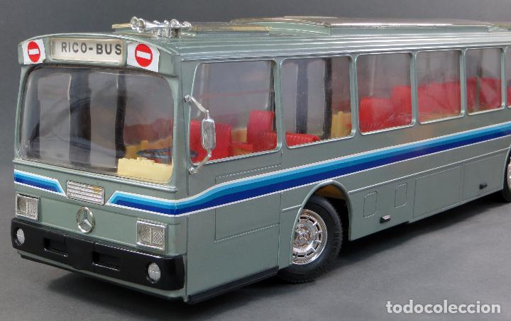 Juguetes antiguos Rico: Autobus Bus Mercedes Benz Rico eléctrico conducido Ref 43 años 80 con caja Funciona parte - Foto 5 - 136034393