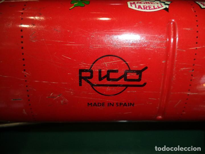 Juguetes antiguos Rico: COCHE DE CARRERAS RICO - Foto 8 - 119653371