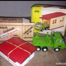 Juguetes antiguos Rico: GARAJE RICO + COCHE 1975-85. Lote 57050135