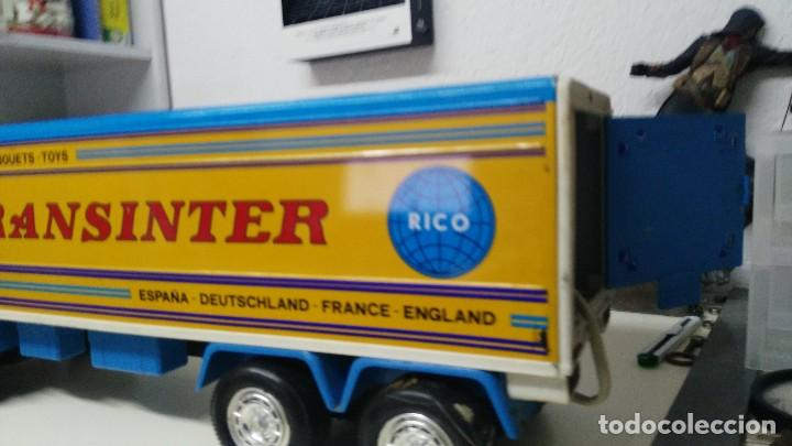 Juguetes antiguos Rico: ANTIGUO TRANSINTER DE RICO PEGASO CABINA BLANCA - Foto 6 - 136343837