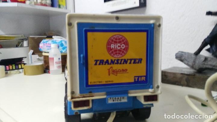 Juguetes antiguos Rico: ANTIGUO TRANSINTER DE RICO PEGASO CABINA BLANCA - Foto 9 - 136343837