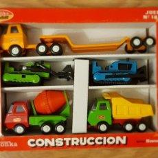 Juguetes antiguos Rico: SET DE VEHÍCULOS CONSTRUCCIÓN RICO TONKA. Lote 122333026
