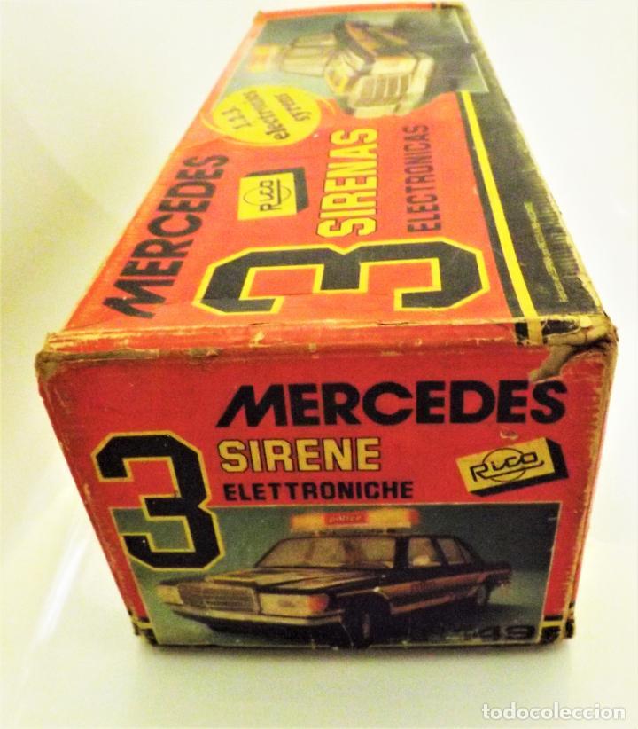 Juguetes antiguos Rico: Mercedes Benz de Rico Tres sirenas - Foto 10 - 123129751