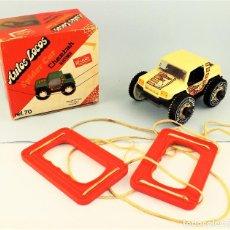 Juguetes antiguos Rico: RICO AUTOS LOCOS SPIDER CAR. Lote 123130267