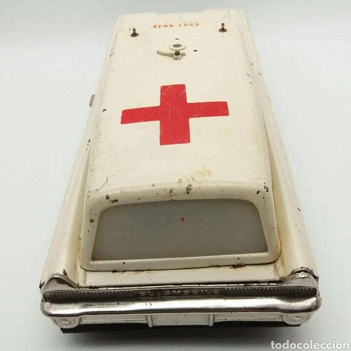Juguetes antiguos Rico: RICO Oldsmobile, Ambulancia de la Cruz Roja Española, Antiguo coche de Hojalata NO Payá, Sanchis - Foto 8 - 124347798
