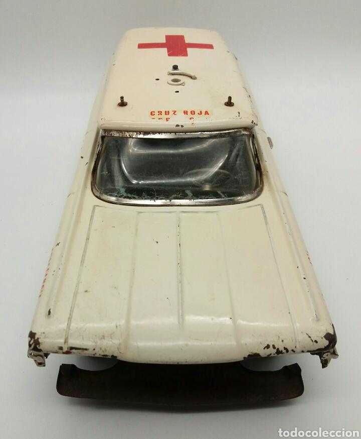 Juguetes antiguos Rico: RICO Oldsmobile, Ambulancia de la Cruz Roja Española, Antiguo coche de Hojalata NO Payá, Sanchis - Foto 9 - 124347798